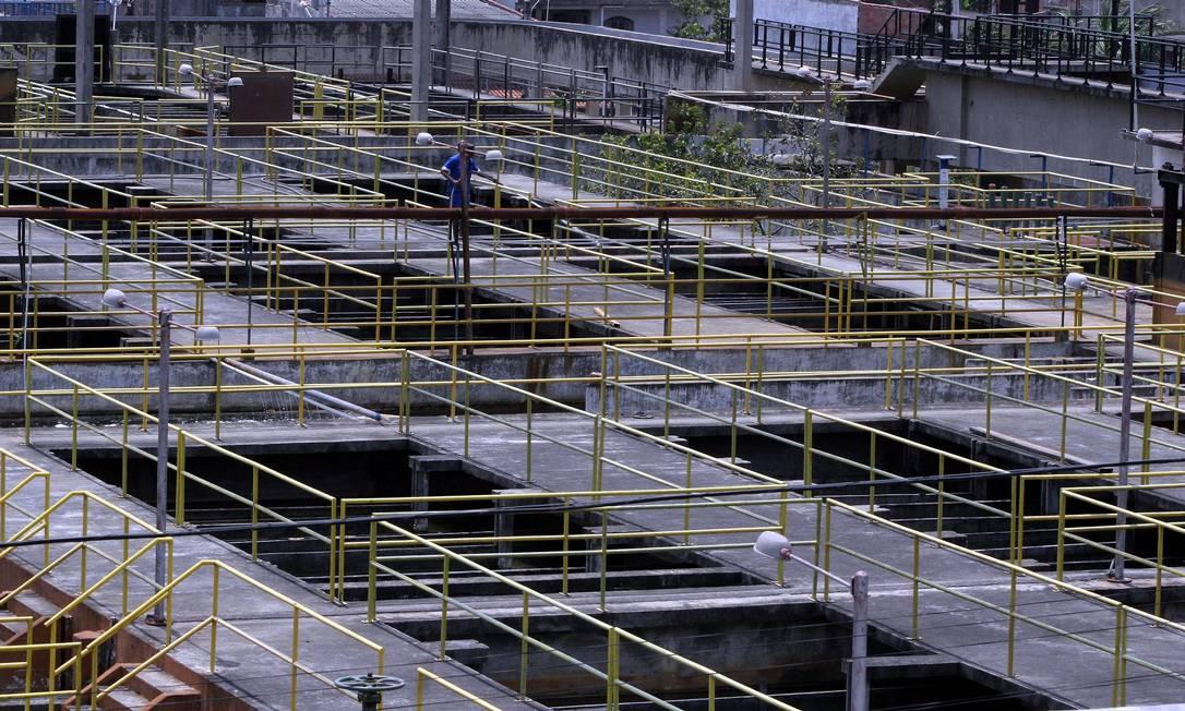 Sistema Imunana-Laranjal teve manutenção preventiva concluída nesta quinta Foto: Fabiano Rocha - Extra / Agência O Globo