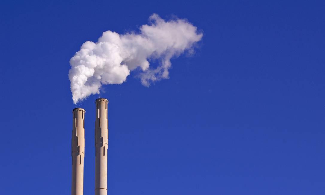 Emissões de gases do efeito estufa estão cada vez maiores Foto: Stock Photo