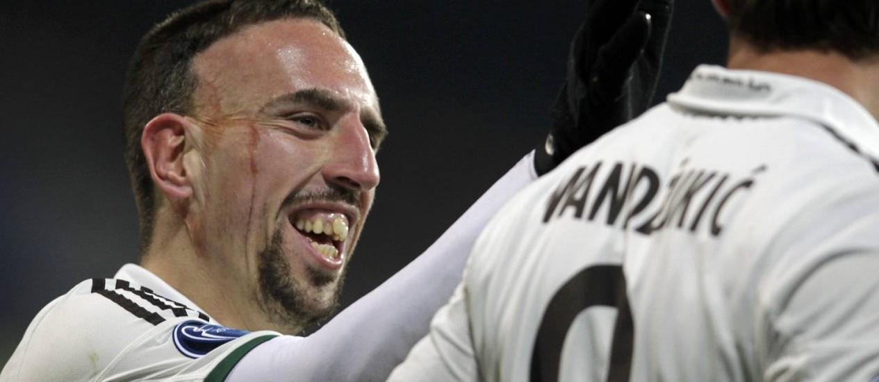Ribéry: 'Vou fazer de tudo para vencer' Foto: DAVID W CERNY / REUTERS