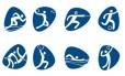Os pictogramas dos Jogos Olímpicos de 2016