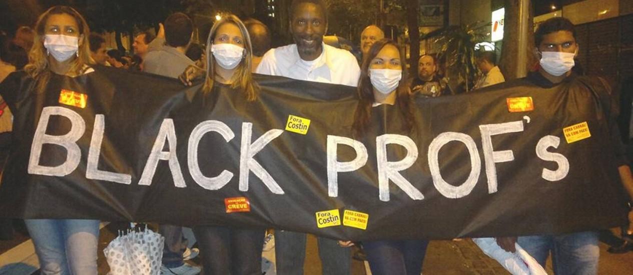 Ligado a Garotinho, Nayt vem tendo atuação intensa nos bastidores dos protestos Foto: O Globo / Reprodução