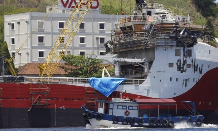 As encomendas da empresa estão no Plano de Renovação da Frota de Apoio Marítimo (Prorefam), lançado em 2008 Gustavo Miranda / Agência O Globo