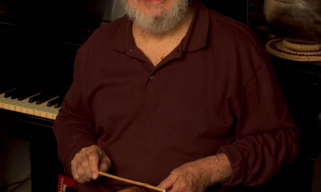 Inovador. Músico desenvolveu a percussão orgânica Foto: Divulgação
