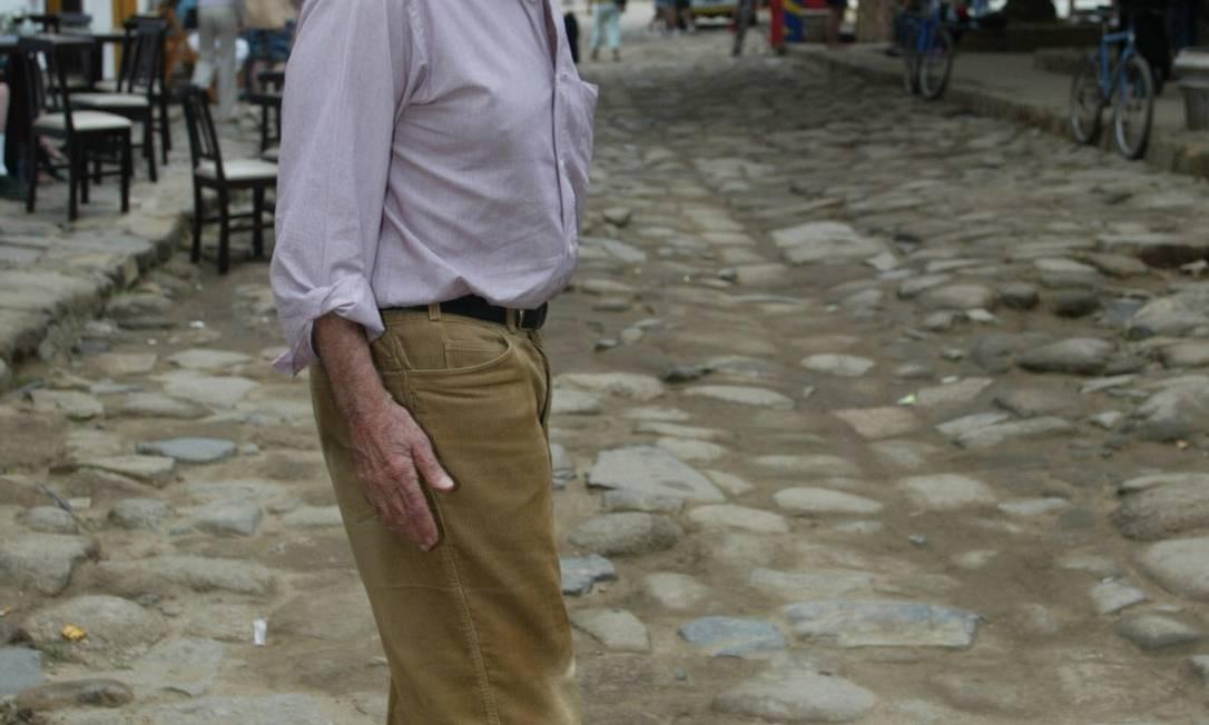 Millôr Fernandes na Flip em 2003 Foto: Ana Branco / Agência O Globo