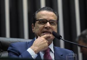 Presidente da Câmara, deputado Henrique Alves Foto: André Coelho/ O Globo