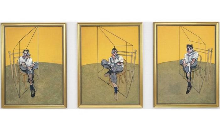 'Três estudos de Lucien Freud', de Francis Bacon Foto: AP