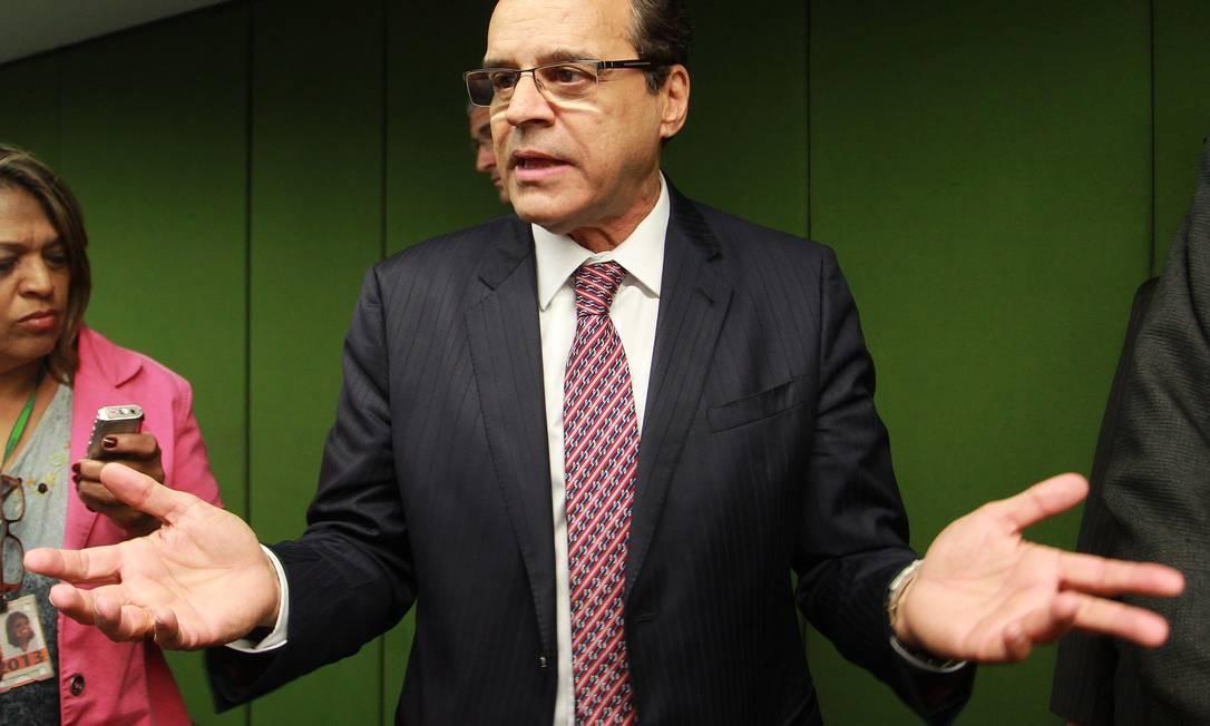 O presidente da Câmara, Henrique Eduardo Alves (PMDB-RN) Foto: Ailton de Freitas / Agência O Globo