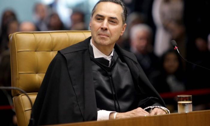 O ministro Luís Roberto Barroso Foto: Fellipe Sampaio / Agência O Globo