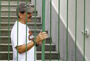 Roberto Jefferson em sua casa, em Levi Gasparian, no interior do Rio Foto: Pablo Jacob / O Globo