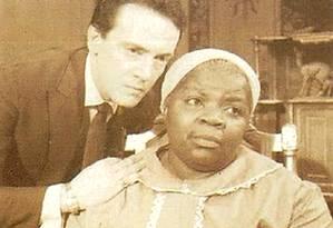 """Isaura Bruno fez sucesso junto ao público como a Mamãe Dolores de """"O direito de nascer"""", da TV Tupi, em 1964 Foto: Arquivo / O Globo"""