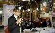 Bill Gates fala em Oslo, capital da Noruega: empresário conclamou país a investir na África.