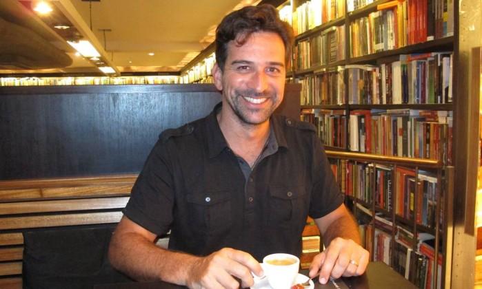 Dois cafés e a conta com Fernando Gouvêa Foto: Mauro Ventura / Agência O Globo