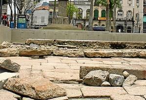Sítio arqueológico foi redescoberto na região em 2011 - Foto: Divulgação