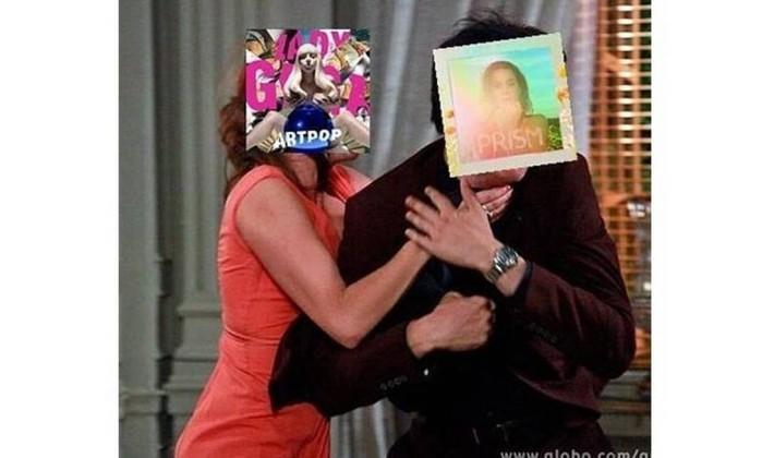 Lady Gaga e Katy Perry cansam de disputar o topo das paradas internacionais com elegância e partem para a agressão Reprodução da web