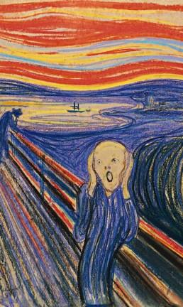"""""""O Grito"""", de Edvard Munch Foto: Arquivo"""