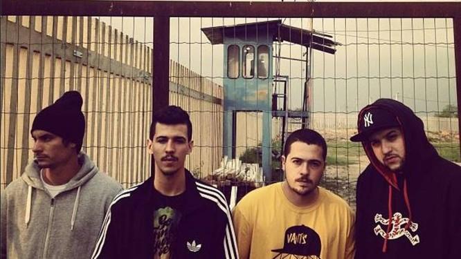 Os quatro integrantes do grupo de rap 3030 Foto: Divulgação
