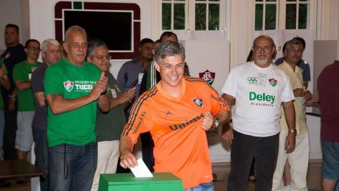 Peter Siemsen foi reeleito neste sábado Foto: Divulgação / Fluminense