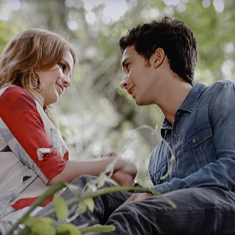 """Ben e Anita reatam o namoro em """"Malhação"""" Foto: Reprodução da internet"""