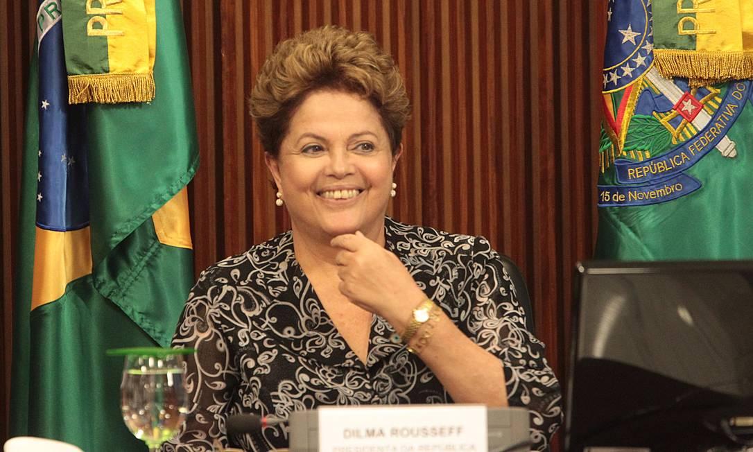 Presidente Dima cresce em pesquisa Foto: André Coelho / O Globo