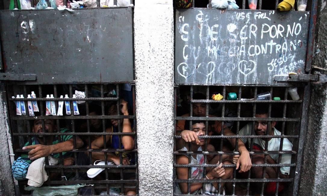 Fotografia registra condições precárias em unidade prisional de Sergipe Foto: Agência CNJ / Luiz Silveira