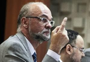 Luiz Claudio Costa, presidente do Inep, comenta os números do Enem 2012 Foto: Jorge William / Agência O Globo