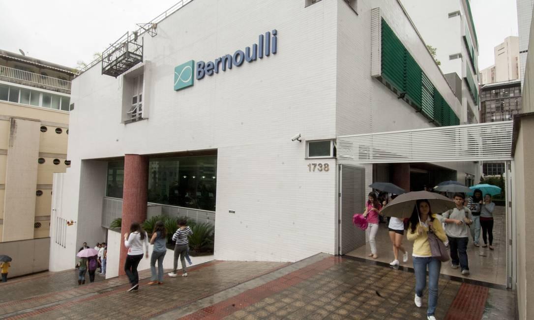 Colégio Bernoulli, em Belo Horizonte, obteve a maior média de desempenho no Enem 2012 Foto: Jackson Romanelli//Infinito.