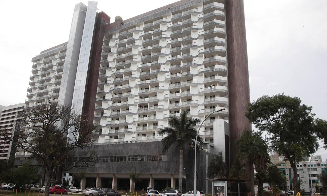 Hotel Saint Peter, em Brasília, onde José Dirceu pediu para trabalhar Foto: Jorge William / O Globo