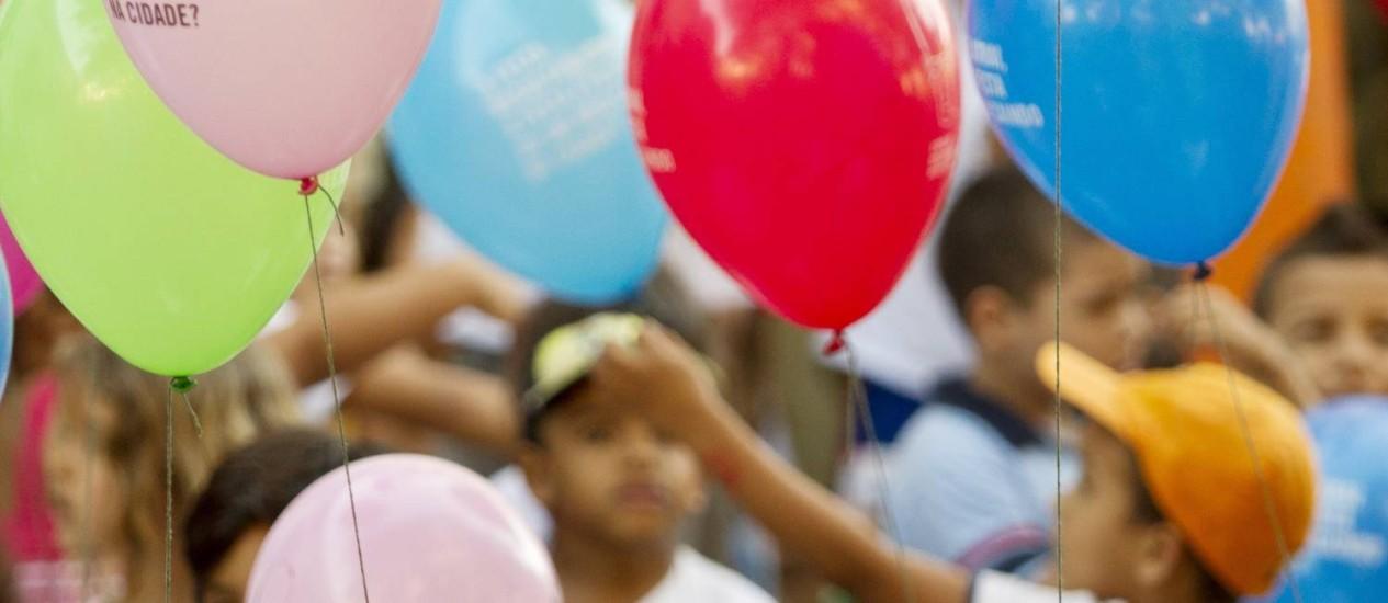 Crianças. Tema de congresso e simpósio da Santa Casa de Misericórdia. Foto: Arquivo