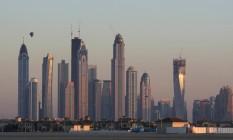 Os arranhas-céus de Dubai Foto: Ana Branco / O Globo