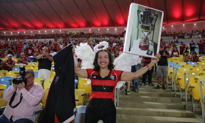 JX Rio de Janeiro (RJ) 27.11.2013 - Final da Copa do Brasil 2013 - Flamengo X Atlético/PR. Local: Arena Maracanã. Foto Marcelo Theobald/Extra/Agência O Globo. Marcelo Theobald / Agência O Globo