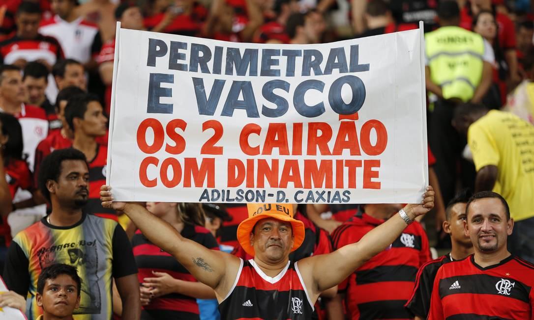 ES Rio de Janeiro/RJ 27/11/2013 Copa do Brasil 2013. Jogo Flamengo x Atletico Paranaense no Maracana pela final do torneio. Foto Ivo Gonzalez / Agencia O Globo Ivo Gonzalez / Agência O Globo