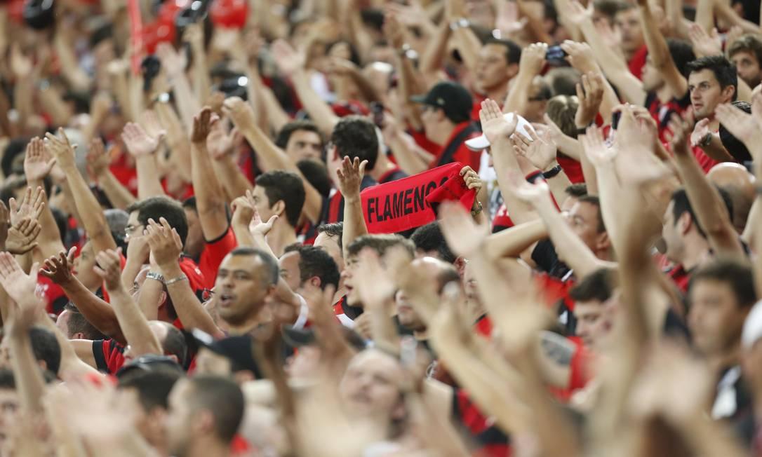 ES Rio de Janeiro (RJ) 27/11/2013 - Copa do Brasil 2013 - Final entre Flamengo x Atletico (PR) no Maracana. Foto Alexandre Cassiano / Agencia O Globo. Alexandre Cassiano / Agência O Globo