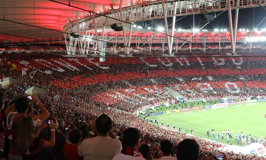 JX Rio de Janeiro (RJ) 27.11.2013 - Final da Copa do Brasil 2013 - Flamengo X Atlético/PR. Local: Arena Maracanã. Foto Guilherme Pinto/Agência O Globo. Marcelo Theobald / Agência O Globo