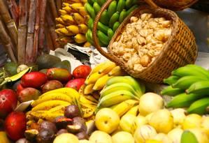 Dieta divina, só alimentos naturais Foto: Arquivo