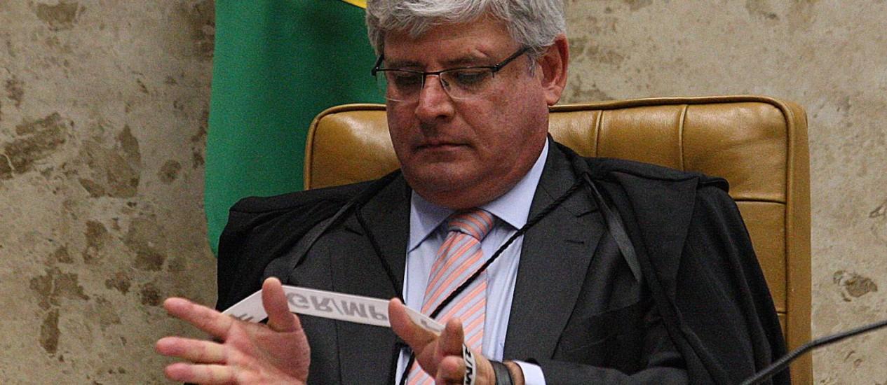 O procurador-Geral da República, Rodrigo Janot Foto: André Coelho/14-11-2013 / Agência O Globo
