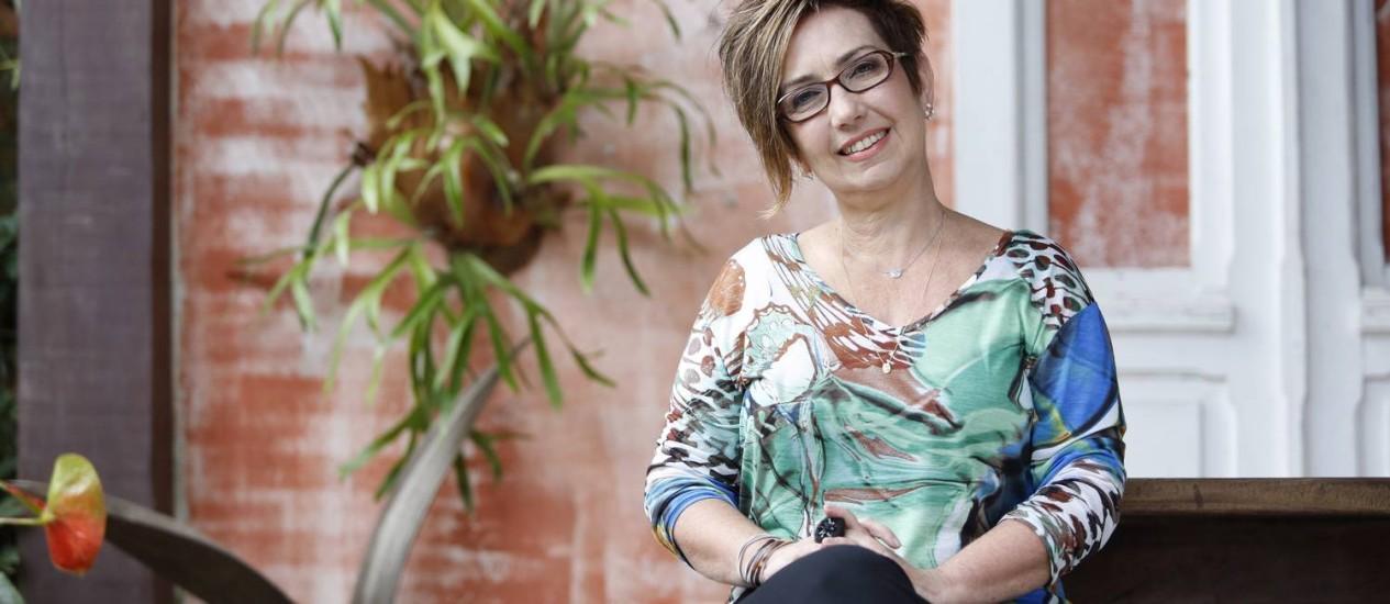 A escritora Claudia Werneck, há mais de 20 anos, dedica a vida à luta pela inclusão Foto: Daniela Dacorso / Agência O Globo
