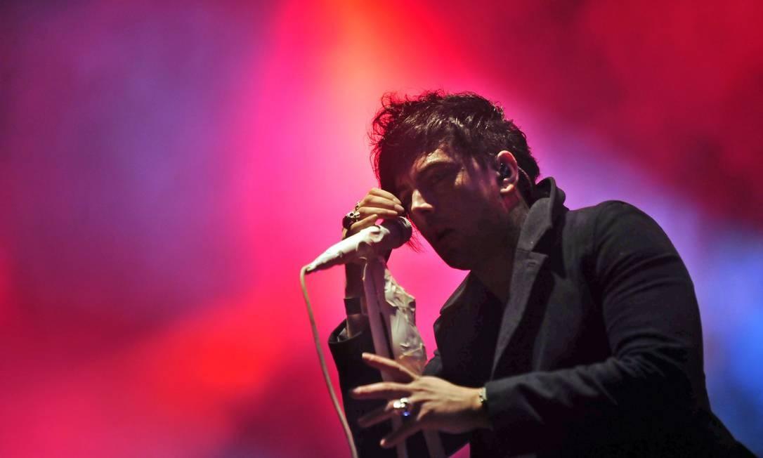 O músico Ian Watkins Foto: ATTILA KISBENEDEK / AFP