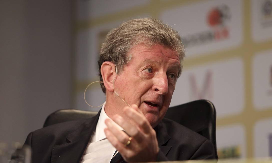 Roy Hodgson não quer que a Inglaterra jogue em Manaus Foto: Alexandre Cassiano / O Globo