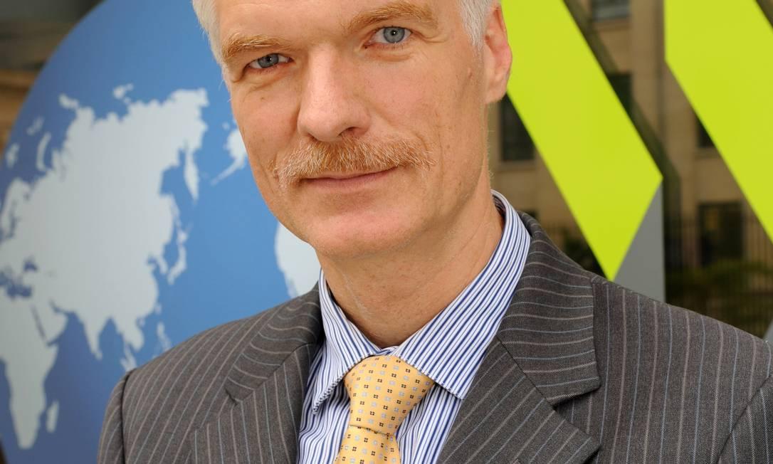 Andreas Schleicher, vice-diretor de Educação da Organização para a Cooperação do Desenvolvimento Econômico (OCDE) Foto: Foto divulgação/OCDE