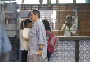 Roberto Jefferson chega ao Inca para fazer perícia médica para pedido de prisão domiciliar Foto: Pablo Jacob / O Globo