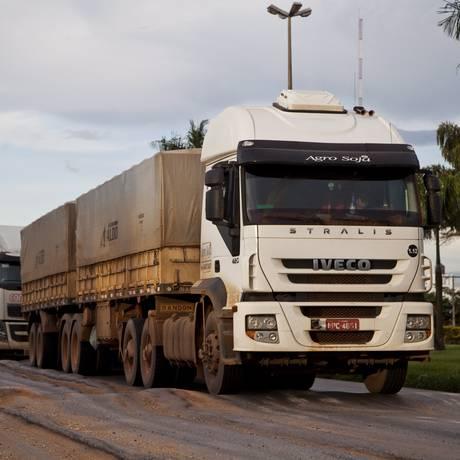 Odebrecht levou a BR-163 no Mato Grosso e cresceu no setor Foto: Guito Moreto / Agência O Globo