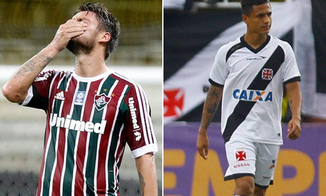 Vasco e Fluminense são rebaixados para a Segunda Divisão Foto: Marcelo Carnaval e Pedro Kirilos / Ag~encia O Globo
