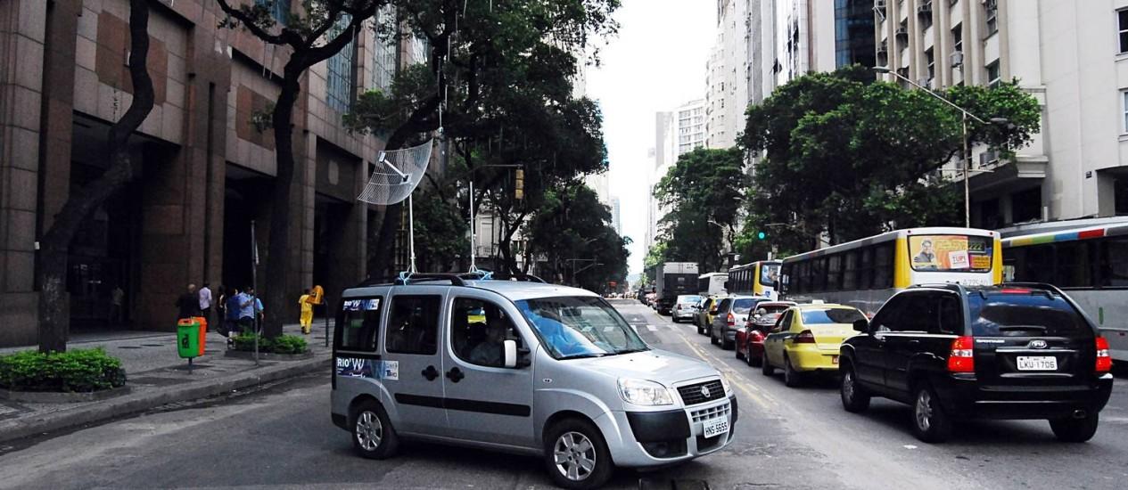 Fator segurança continua a ser um problema: foram encontradas muitas redes sem qualquer proteção de senha Foto: Terceiro / Agência O Globo
