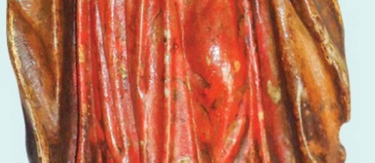 A imagem de Nossa Senhora da Conceição, de Aleijadinho, estará no 7º Grande Leilão Residencial Foto: Reprodução