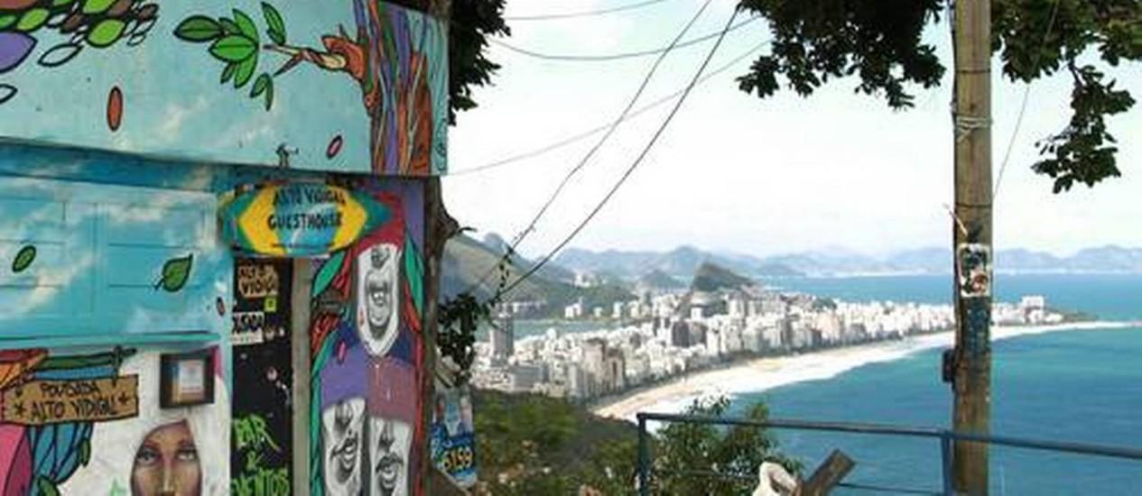Vidigal é um dos bairros que sofrem com o 'efeito UPP' Foto: Agência O Globo / Gabriel de Paiva