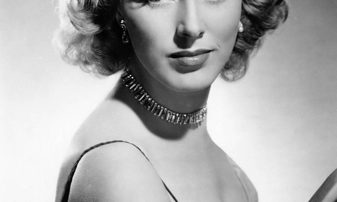 A atriz Eleanor Parker Foto: / Arquivo