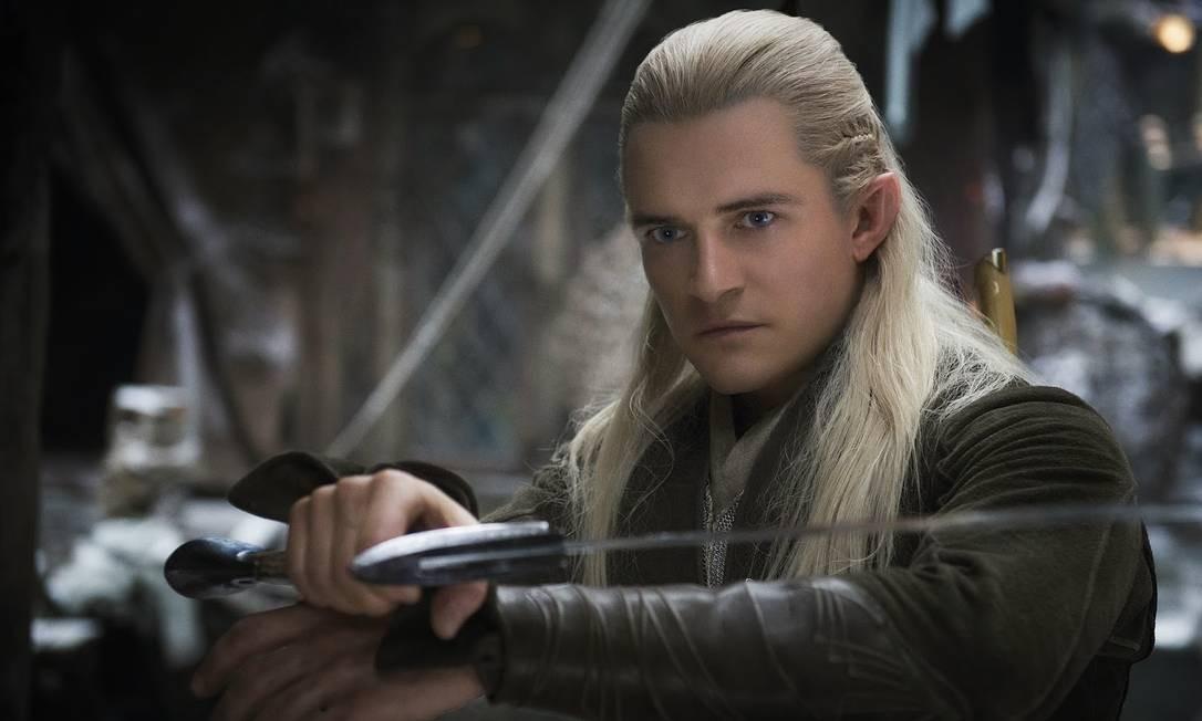 Orlando Bloom volta ao papel de elfo, mas mira o cinema