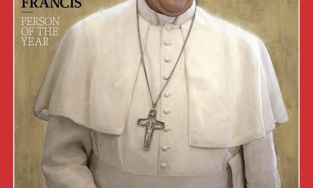 Papa Francisco foi escolhido em 13 de março para suceder Bento XVI Foto: Reprodução