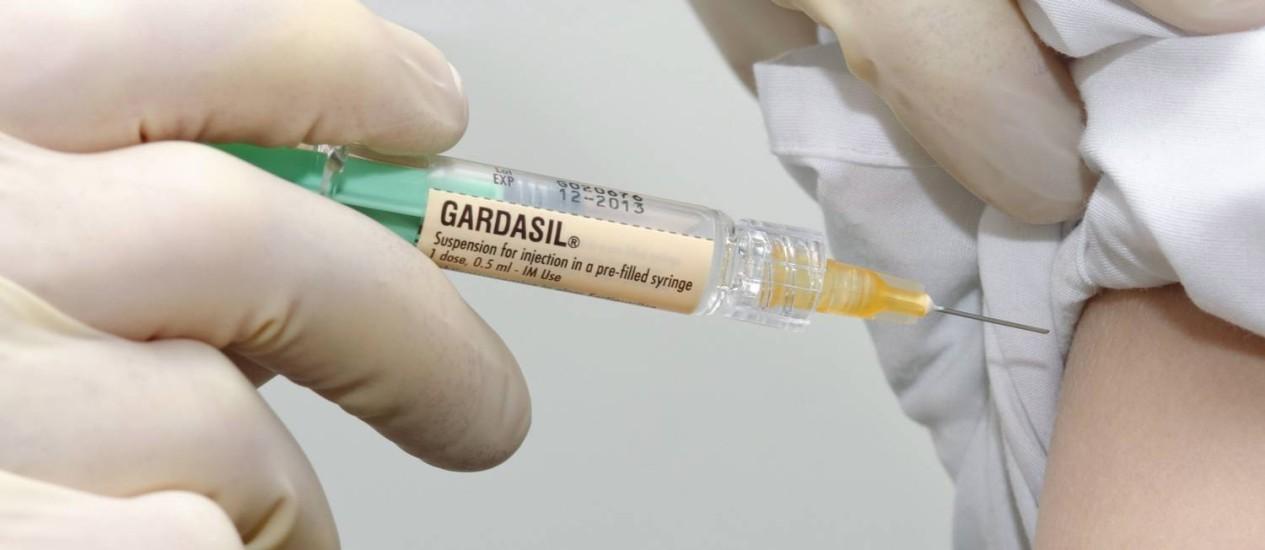 Vacina quadrivalente. É a mais utilizada no mundo, com mais de 134 milhões de doses distribuídas desde 2006 e entrará no sistema permanente de vacinação no Brasil no ano que vem Foto: Latinstock