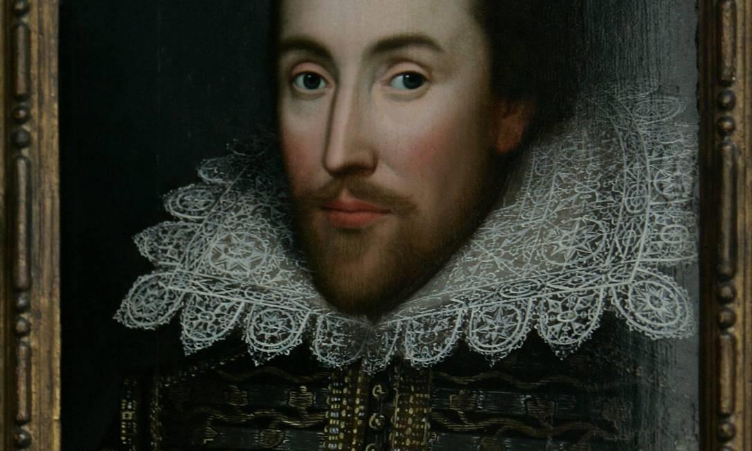 William Shakespeare: Unanimidade sobre a obra do bardo só foi alcançada no fim do século XIX Foto: Arquivo